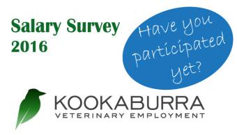 Kookaburra Vet Employment Salary Survey