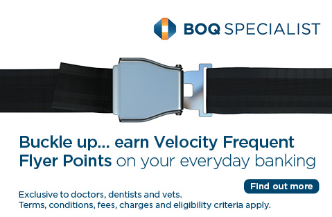 Buckle up... earn Velocity Frequent Flyer Points